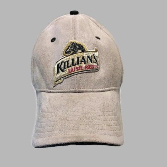 d33ec8abd60226 Killians Irish Red Hat Tan Faux Suede Strapback. M_5aa005a9c9fcdf2eca515898